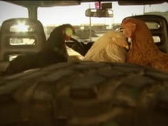 Save the Children Film Ad -  Chicken