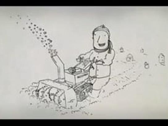 Minnesota State Lottery Film Ad -  Snow-bot
