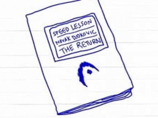Head Digital Ad -  Speed lessons by Novac Djokovic  The return