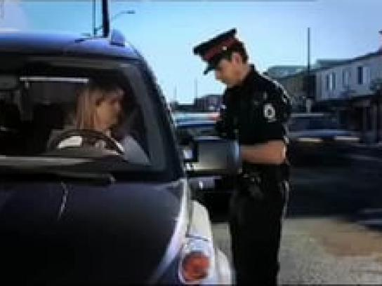 Alberta Office of Traffic Safety Film Ad -  Dead stop