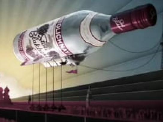 Stoli Film Ad -  Airship