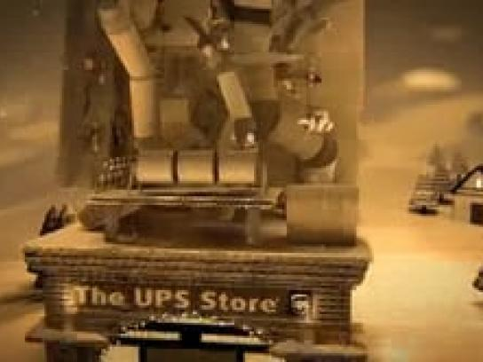 UPS Film Ad -  A Happy Holiday