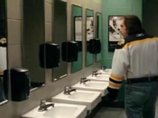 Boston Bruins Film Ad -  Tuck