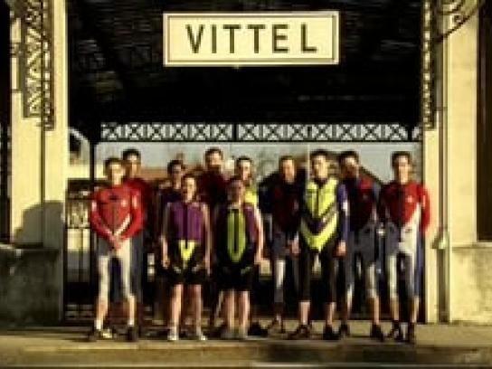 Vittel Film Ad -  Water ski