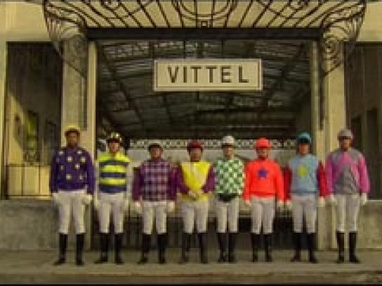 Vittel Film Ad -  Horse riding