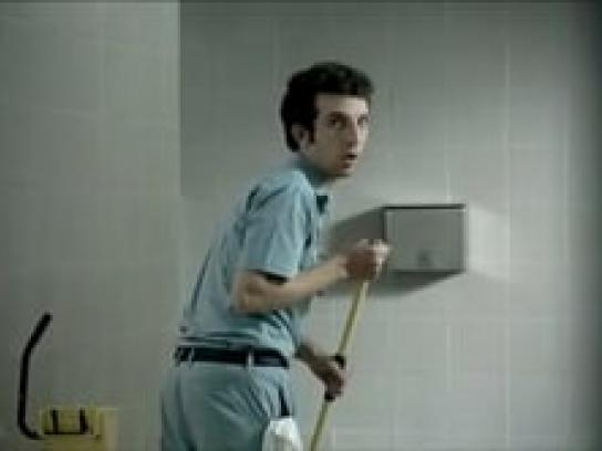 White King Film Ad -  When only a powerful cleaner will do