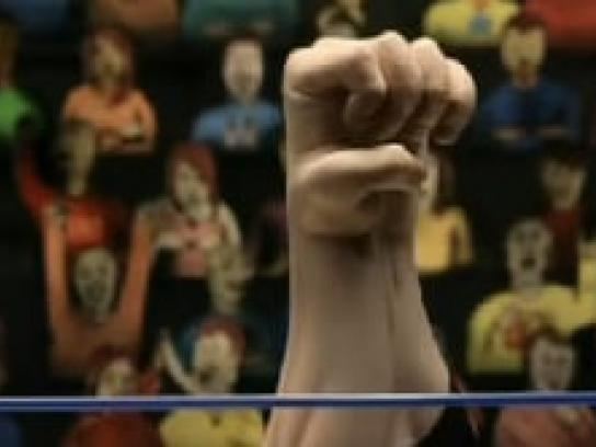 BC Dairy Film Ad -  Arm wrestling