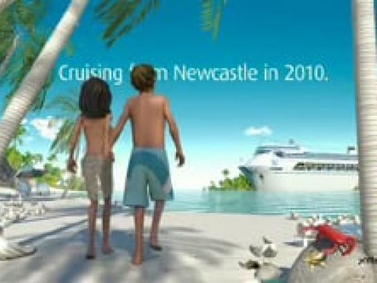 P&O Cruises Film Ad -  Seagulls, Beach