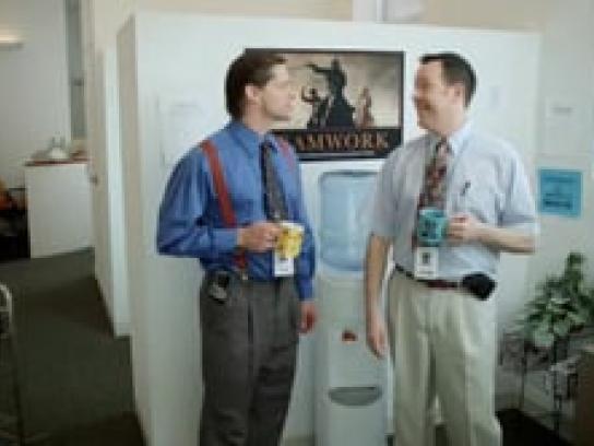 Chicago Lake Liquors Film Ad -  Office