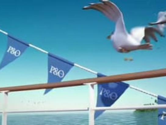 P&O Cruises Film Ad -  Seagulls, Deck
