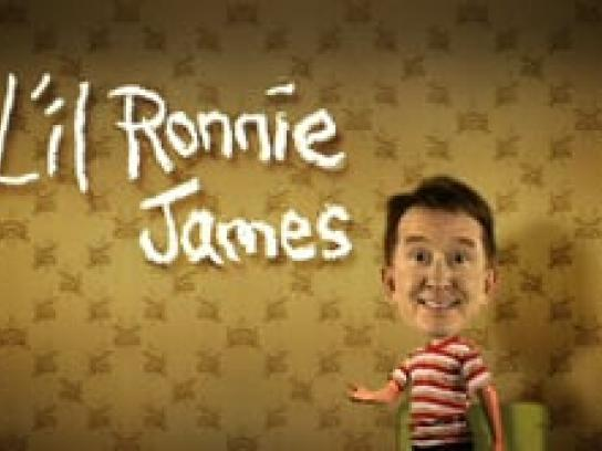The Ron James Show Film Ad -  Lil' Ronnies, Superball