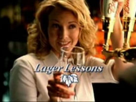 Budweiser Film Ad -  Signature glass