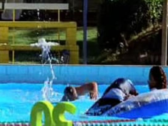 Your30.com.au Film Ad -  Eat Well Be Active, Pool