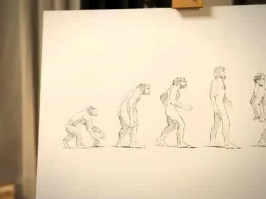Sony Film Ad -  Homo Retractus