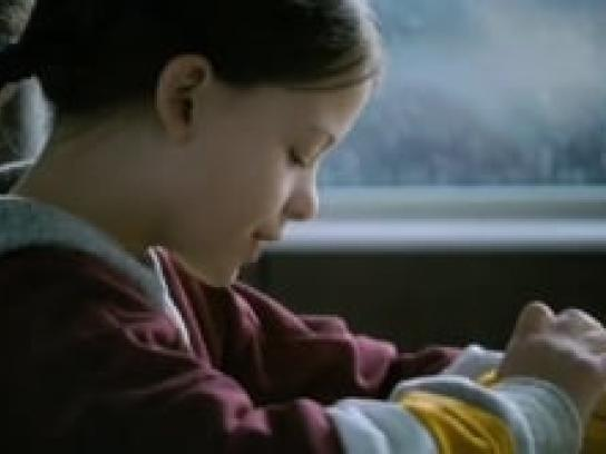McDonald's Film Ad -  Little girl