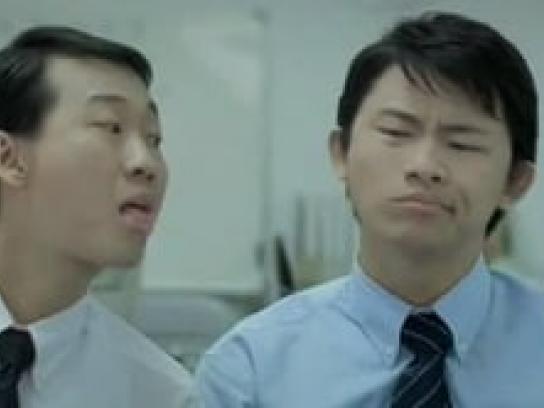 Mentos Film Ad -  Tongue twister