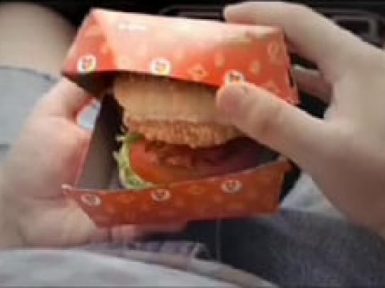 Chicken Licken Film Ad -  Singing burger