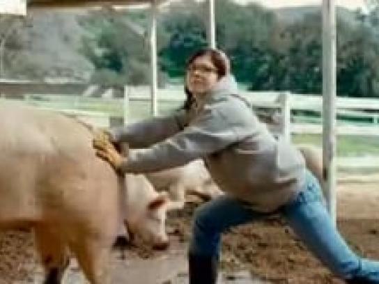 Qwest Film Ad -  Milk