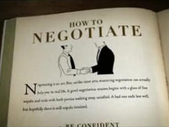 Jose Cuervo Film Ad -  Negotiation