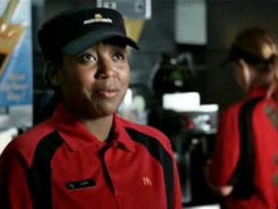 McDonald's Film Ad -  Don't Talk to Me
