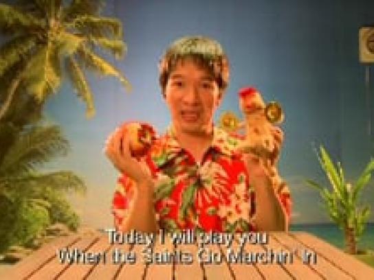 Tutti Frutti Film Ad -  Monkey