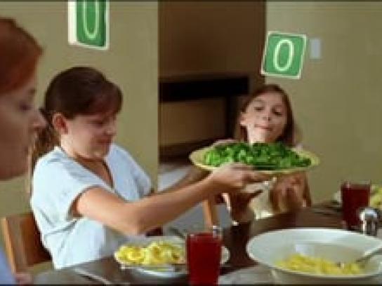 V8 Print Ad -  Pass the veggies