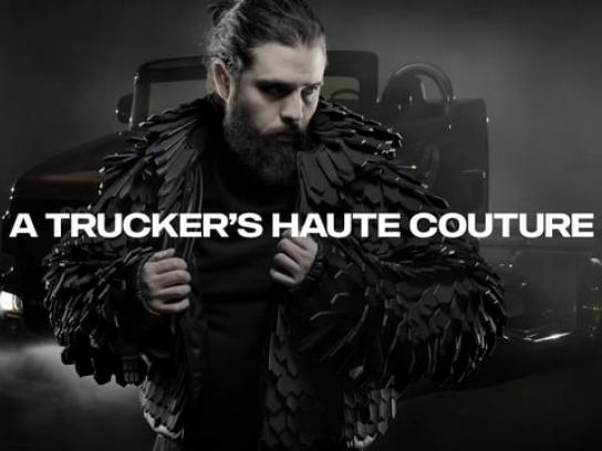 Scania Film Ad - A Trucker's Haute Couture
