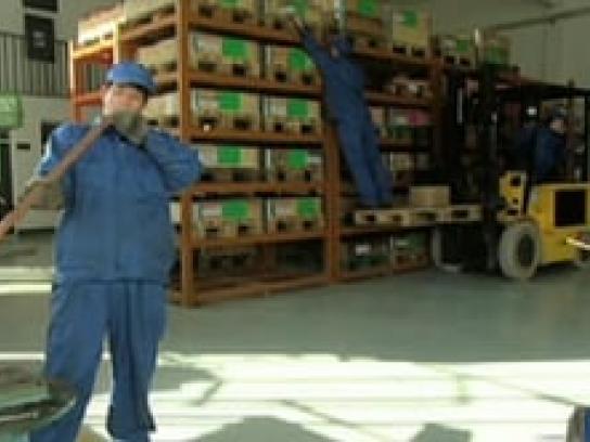 DHL Film Ad -  Super Fast, Factory