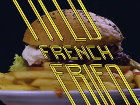 French Fried Film Ad - Le Burger
