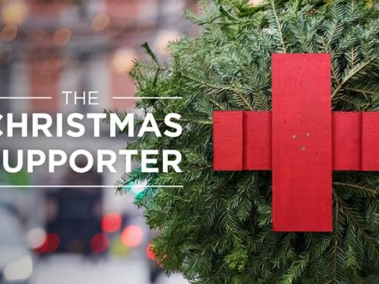 Red Cross Integrated Ad - Christmas Supporter