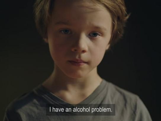 Alcohol & Society Film Ad - An AA-meeting For Children