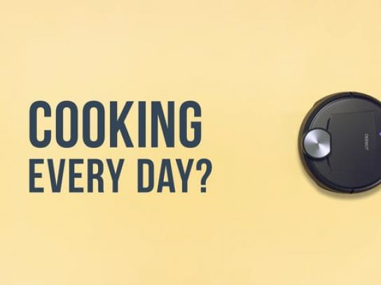 Deebot Digital Ad - Cooking every day? Deebot every day!