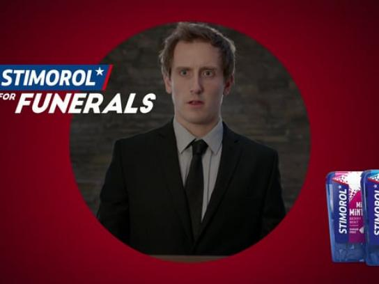 Stimorol Film Ad - Stimorol For Funerals