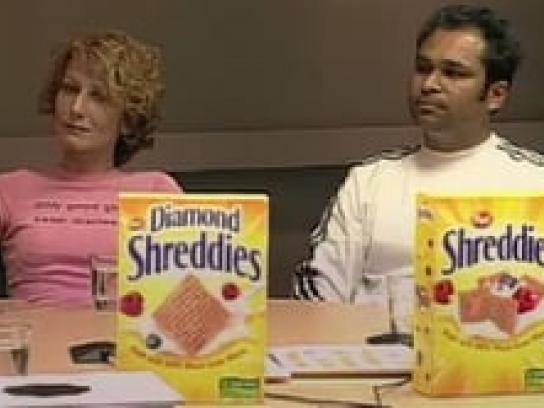 Post Shreddies Film Ad -  Ratings