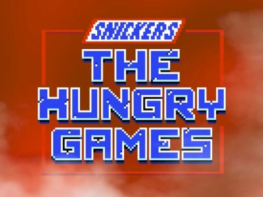Snickers Digital Ad - The Hungry Games