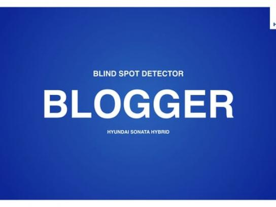 Hyundai Audio Ad - Blind Spot Detector  - Blogger