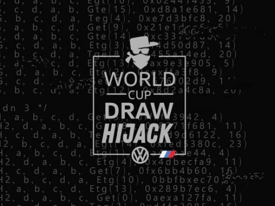 Volkswagen Digital Ad - World Cup Draw Hijack 2018