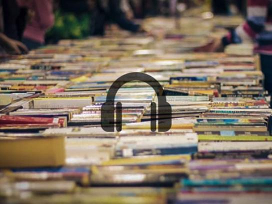 Lifeline Bookfest Audio Ad - The Hunt For Books