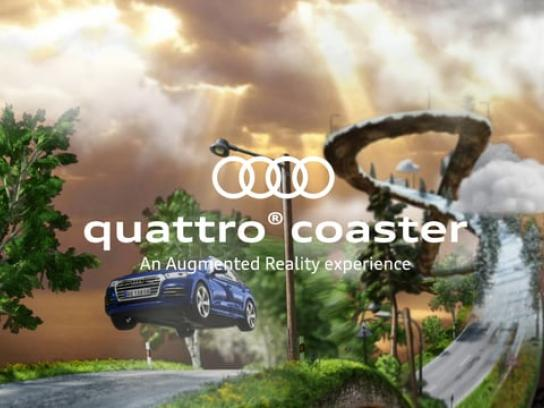Audi Digital Ad - The Quattro Coaster