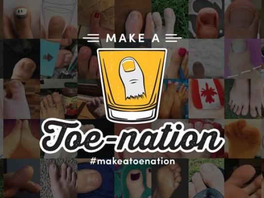 Make a Toenation