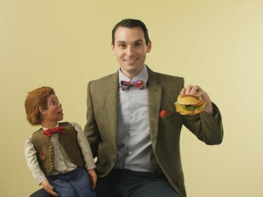 BurgerFi Film Ad - Ventriloquist