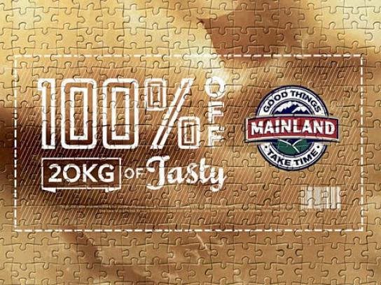 Mainland Film Ad - The Mainland 2000-Piece Voucher