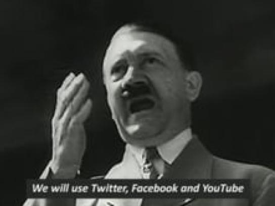 Gesicht Zeigen Film Ad - Fascism Conquers The Internet