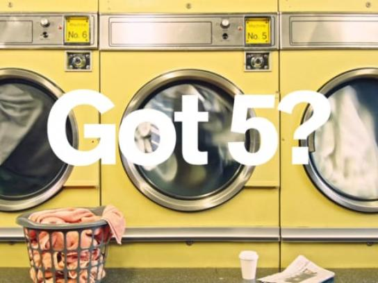Electoral Commission Film Ad - Launderette