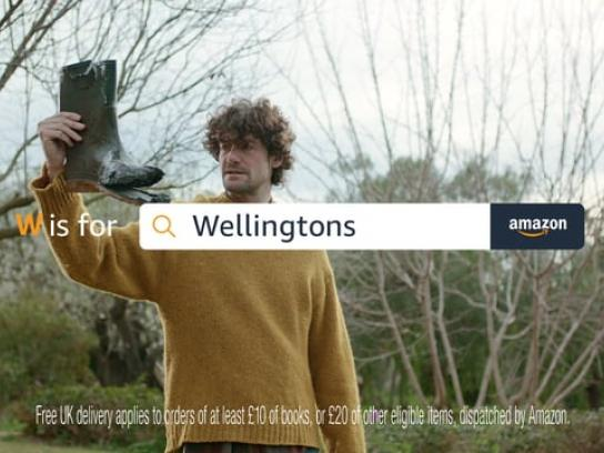 Amazon Film Ad - Fundamentals A-Z - Wellingtons