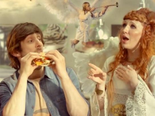 Burger King Digital Ad - Flame Grillism