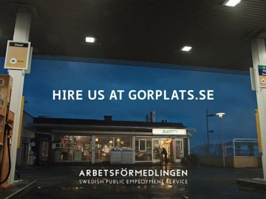 Swedish Public Employment Service Film Ad - Make Room