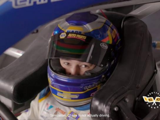 NAPA Auto Parts Film Ad - Caution Channel: GIF Car Artist