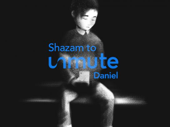 Singapore Children's Society Digital Ad - Unmute Daniel x Shazam