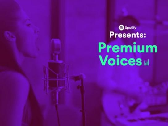 Spotify Digital Ad - Premium Voices
